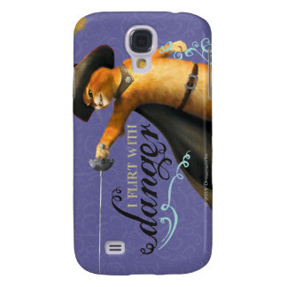 I Flirt With Danger (color) Galaxy S4 Cases