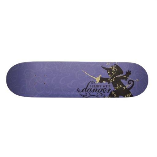 I Flirt With Danger Skateboard Deck