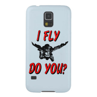 I Fly, Do You? (blk) Cases For Galaxy S5