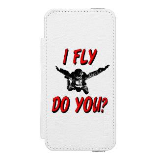 I Fly, Do You? (blk) Incipio Watson™ iPhone 5 Wallet Case