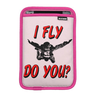 I Fly, Do You? (blk) iPad Mini Sleeve