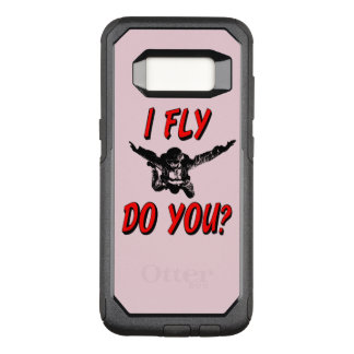 I Fly, Do You? (blk) OtterBox Commuter Samsung Galaxy S8 Case