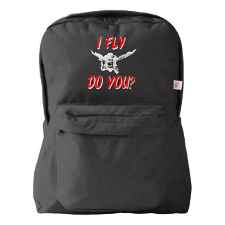 I Fly, Do You? (wht) Backpack