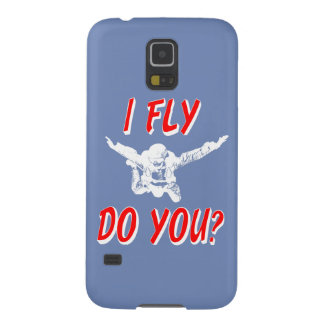 I Fly, Do You? (wht) Case For Galaxy S5
