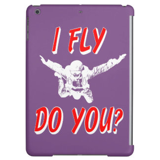 I Fly, Do You? (wht) Case For iPad Air