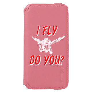 I Fly, Do You? (wht) Incipio Watson™ iPhone 6 Wallet Case
