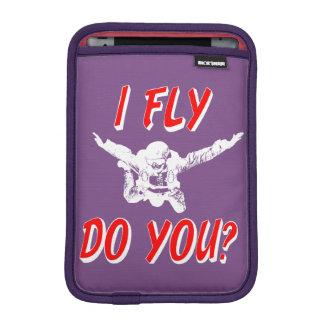 I Fly, Do You? (wht) iPad Mini Sleeve
