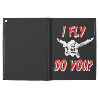 "I Fly, Do You? (wht) iPad Pro 12.9"" Case"