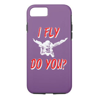 I Fly, Do You? (wht) iPhone 8/7 Case