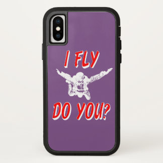 I Fly, Do You? (wht) iPhone X Case