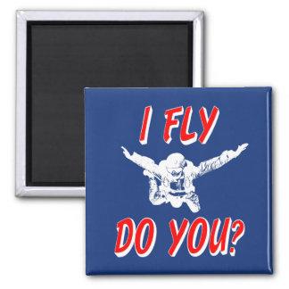 I Fly, Do You? (wht) Magnet