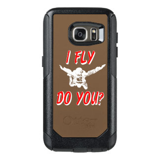 I Fly, Do You? (wht) OtterBox Samsung Galaxy S7 Case