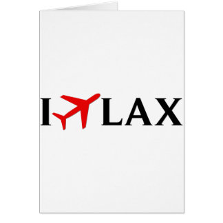 I Fly LAX - Los Angeles International Airport Card