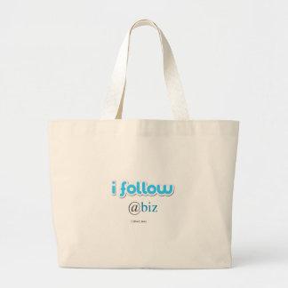 i follow @biz canvas bag