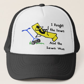 I Fought the Lawn, And the Lawn Won Hat