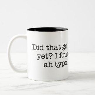 I found a typo Two-Tone mug