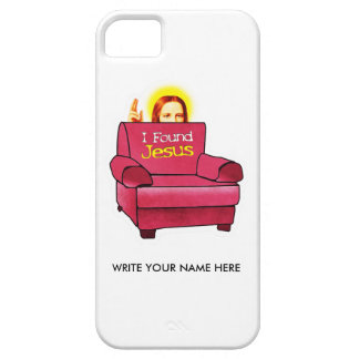 I FOUND JESUS iPhone 5 COVERS