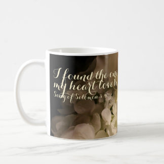 I Found The One Bible Verse Bouquet Coffee Mug