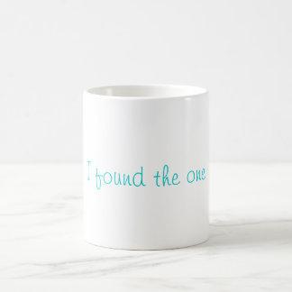 I found the one coffee cup! basic white mug