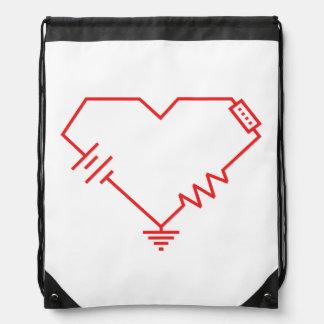 i fry your circuits drawstring bag