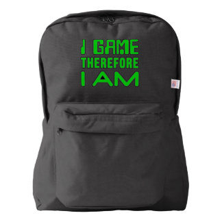 I Game Therefore I AM Backpack