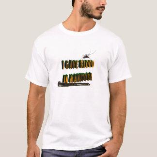 I GAVE BLOOD IN MANITOBA T-Shirt