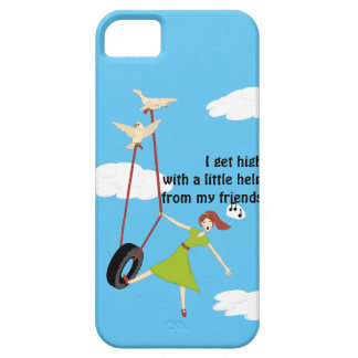 I Get High With a Little Help From My Friends Case For The iPhone 5