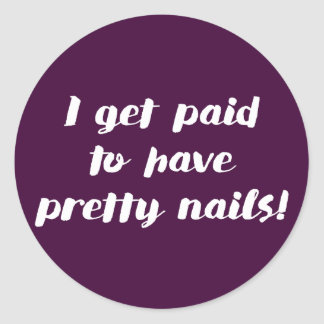 I get paid to have pretty nails! Fig stickers