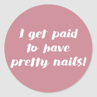 I get paid to have pretty nails! Rose stickers