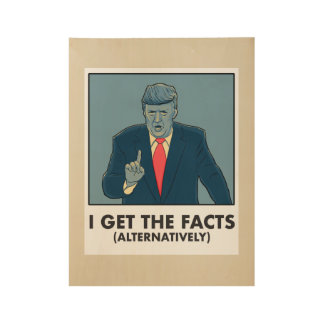 I get the facts alternatively poster