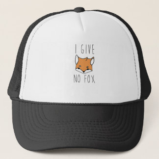 I Give No Fox Trucker Hat