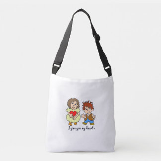 I give U my heart Crossbody Bag