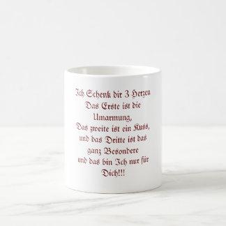 I give you 3 hearts mug