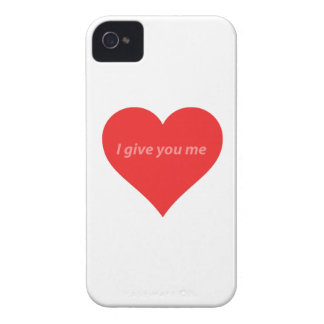 I give you all I have - love iPhone 4 Case-Mate Cases