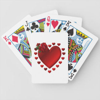 I Give You My Heart Bicycle Playing Cards