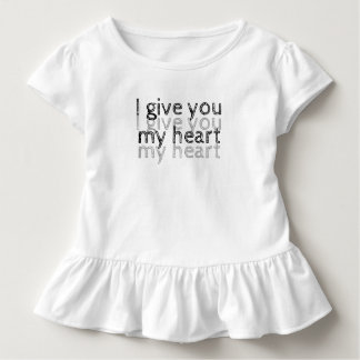 I give you my heart Lm Toddler T-Shirt