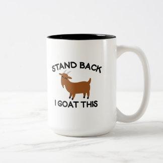 I Goat This Two-Tone Coffee Mug