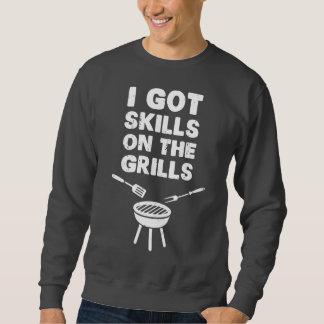 I Got Skills on the Grills Cookout BBQ Sweatshirt