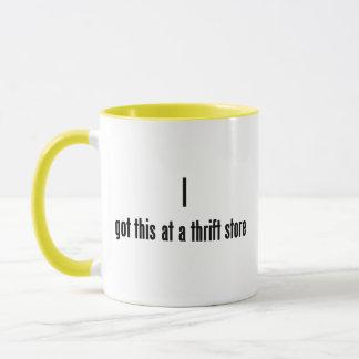 I got this at a thrift store mug