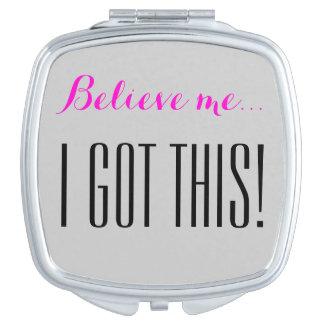 I got this! makeup mirror