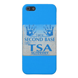I got to second base with a TSA screener iPhone 5 Covers