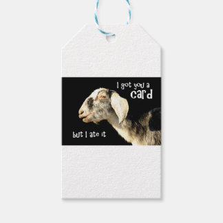 I got you a card gift tags
