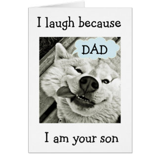 I GOT YOU FOR A DAD=BEST OF THIS DEAL CARD