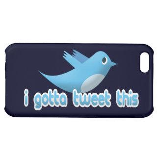 I Gotta Tweet This Twitter Bird iPhone Case iPhone 5C Case