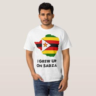 I Grew Up on Sadza Zimbabwe T-Shirt