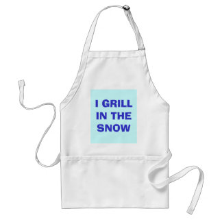 I GRILL IN THE SNOW STANDARD APRON