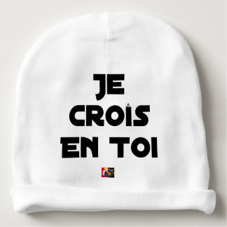 I grow in You - Word games - François Ville Baby Beanie
