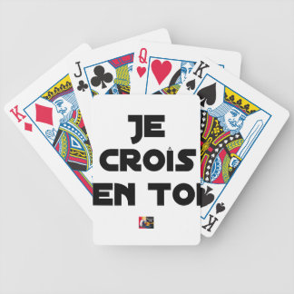 I grow in You - Word games - François Ville Bicycle Playing Cards