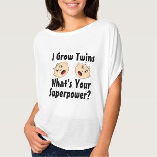 I grow twins, superpower t-shirt