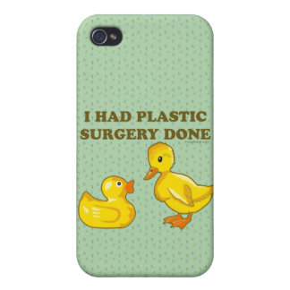 I Had Plastic Surgery Done Case For The iPhone 4